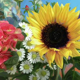 Multicolor Flowers - Lucie Bilodeau