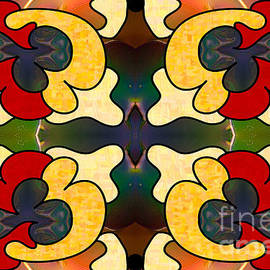 Omaste Witkowski - MultiDimensional Directions Abstract Art by Omashte