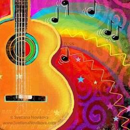 Musical Whimsy Painting By Svetlana