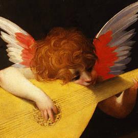 Musician Angel - Rosso Fiorentino