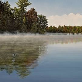Kenneth M  Kirsch - Muskoka Morning Mist