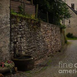 Musweiler Cobble Stone Road by Gary Rieks