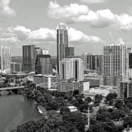 James Granberry - My Austin Skyline in black and white