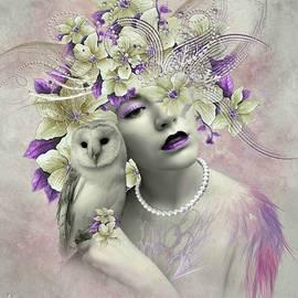 Ali Oppy - My friend the Barn owl