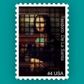 My Mona Lisa Stamp Series by Teodoro De La Santa