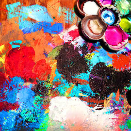 My Palette by Angela Treat Lyon