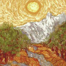 Marci Potts - My Rendition of Van Gogh