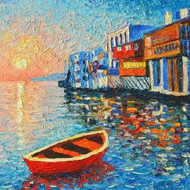 Ana Maria Edulescu - Mykonos Little Venice - Timeless Moment