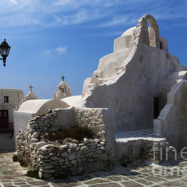 Bob Christopher - Mykonos Paraportiani Church