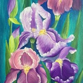 Elena Dremova - Mysterious irises