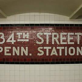 Allen Beatty - N Y C Subway Scene # 25