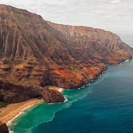 Na Pali Coast 3 by Brian Harig