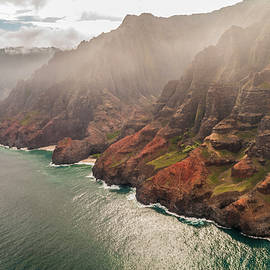 Na Pali Coast 4 - Kauai Hawaii by Brian Harig