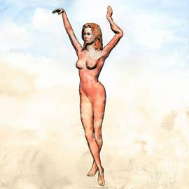 Naked Dance Pop Art by Mary Bassett - Mary Bassett