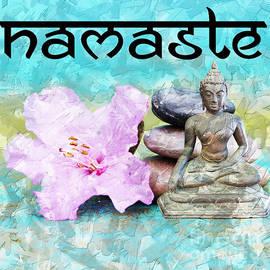 Namaste Buddha by Lita Kelley