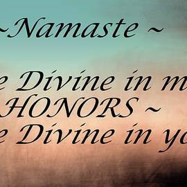 Namaste by Buddy Scott