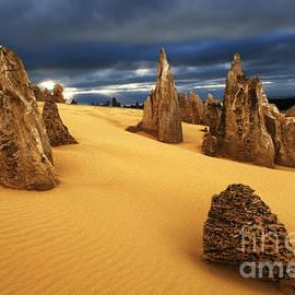 Nambung Desert Australia 4 by Bob Christopher