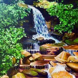 AnnaJo Vahle - Nantahala Waterfall