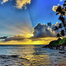 Napili Bay Sunset by Dave Fish