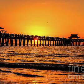 Claudia M Photography - Naples Pier sunset 1