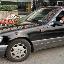 Napping Wedding Car Driver by Sally Weigand