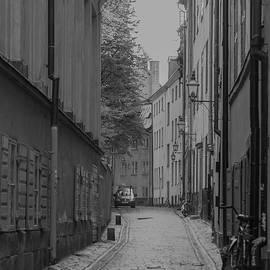Jill Mitchell - Narrow Cobbled Street
