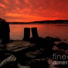 Rick Maxwell - Narrow River Sunset