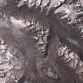 Nasa Image-dry Valleys, Antarctica-2 by Brian Pflanz