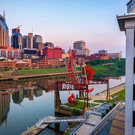 Gregory Ballos - Nashville Skyline at Dawn