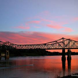 Natchez Sunset by Matalyn Gardner