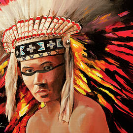 Bill Dunkley - Native American Indian