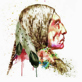 Marian Voicu - Native American Side Face
