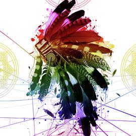native headdress 2 - Bekim Art