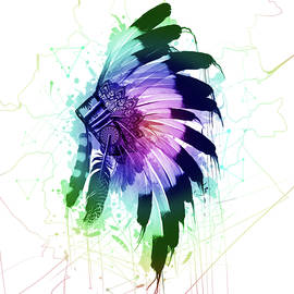 native headdress - Bekim Art
