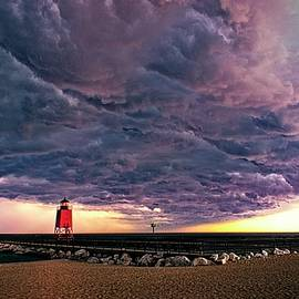 LuAnn Griffin - Nature versus the Little Red Lighthouse