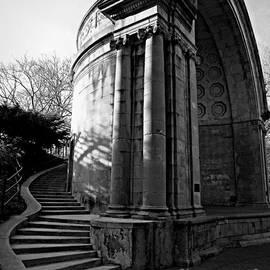 James Aiken - Naumberg Bandshell in Central Park - BW