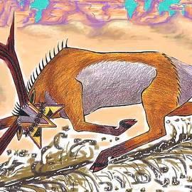 Navajo Horned Monster by Dawn Senior-Trask