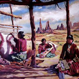 Nancy Griswold - Navajo Weavers