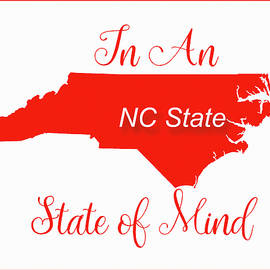Nc State State Of Mind by Paulette B Wright