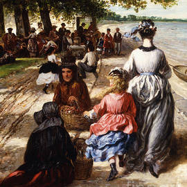 Near the Beach, Gloucester, 1877 - William E Winner