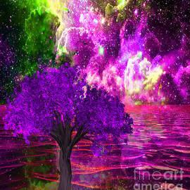 Saundra Myles - Nebula Tree Ocean Dream