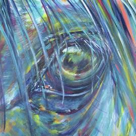 Eye of a horse by Karin McCombe Jones