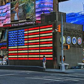 Allen Beatty - Neon American Flag 3