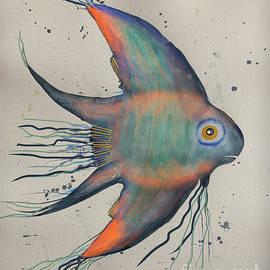 Neon Blue Fish