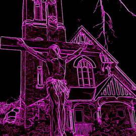 Ed Weidman - Neon Crucifixion