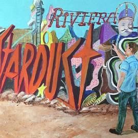 Neon Grave Yard, Las Vegas, NV by Charme Curtin