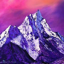 Nepal mountains by Nino Ponditerra