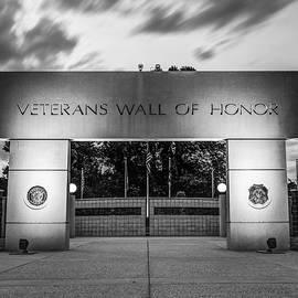 Gregory Ballos - Never Forget - Veterans Wall of Honor - Bella Vista Arkansas - Monochrome