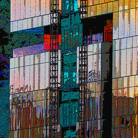 Tom Janca - New Construction Color Reflection Abstract