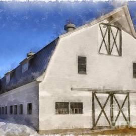 New England Horse Barn South Woodstock Vermont - Edward Fielding
